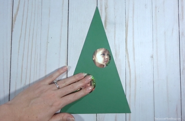 How to make a Christmas Tree Photo Card