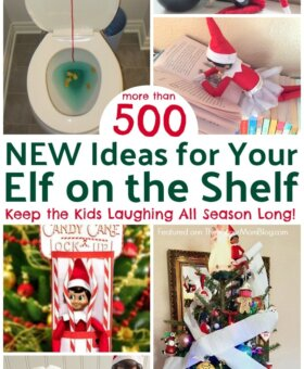 500 Elf on the Shelf Ideas (NEW for 2019)