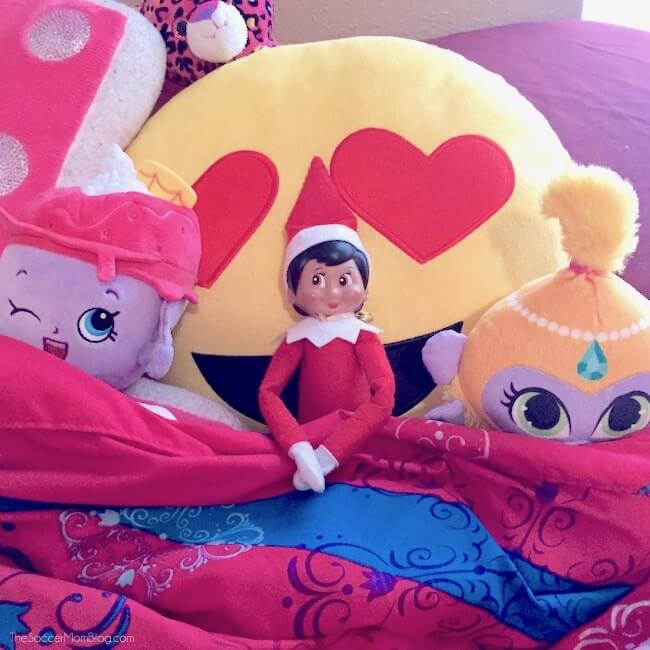 GIANT collection of Elf on the Shelf hiding spot ideas