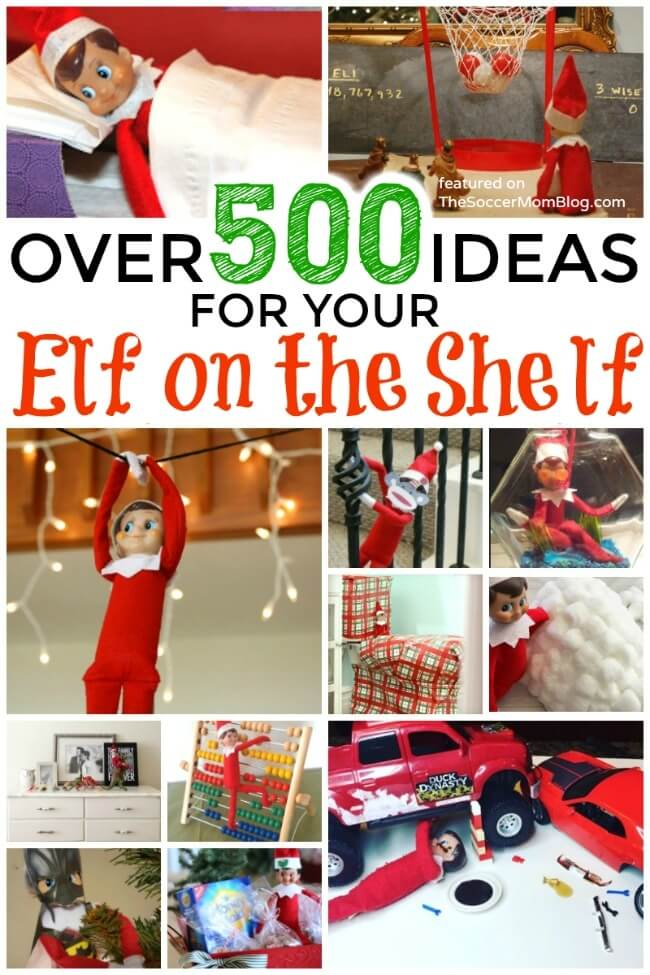 So many fun Elf on the Shelf ideas in one place!!