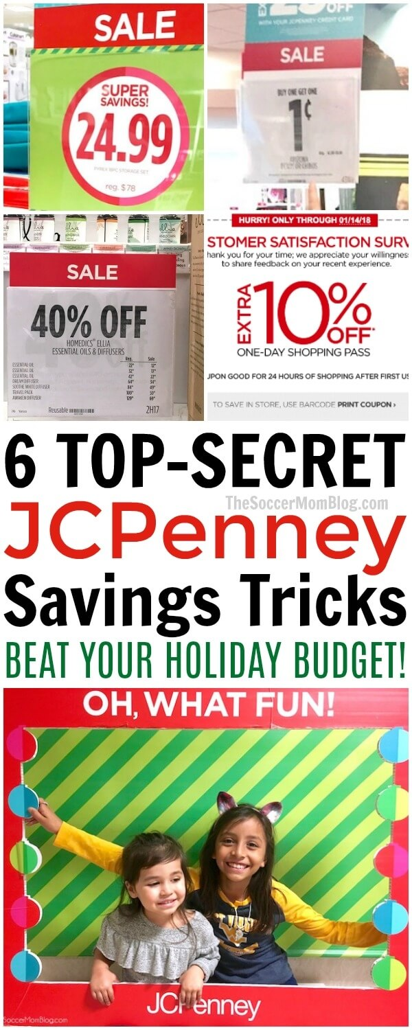 What you need to know to save money at JCPenney this holiday season and get your shopping done all in one place! How to get the best deals & special offers.