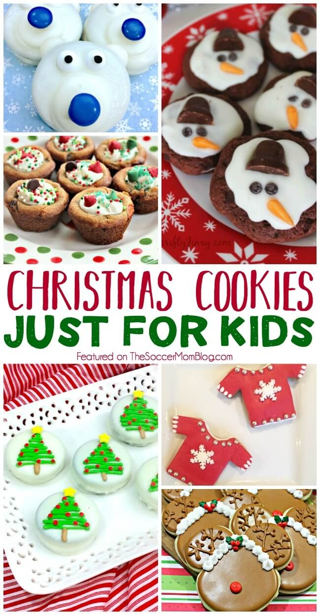 The Best List of Christmas cookies for kids! (And the young at heart)