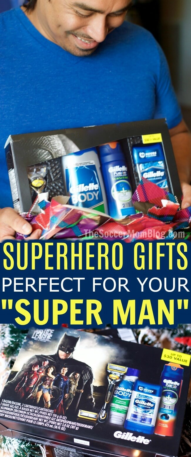 Awesome (and useful) superhero gifts that the men in your life are guaranteed to love. Best gifts for Justice League movie and comics fans!