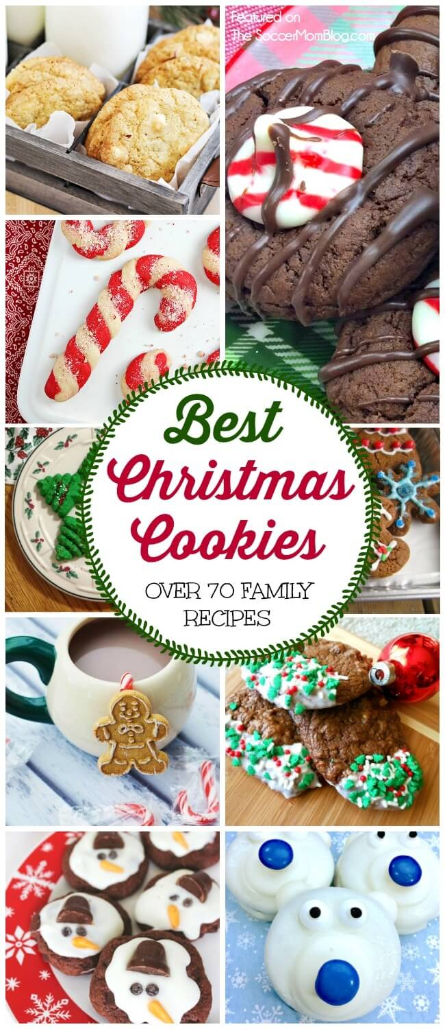 A HUGE collection of the best Christmas cookies from our favorite food and family bloggers. Secret family recipes, kids cookies, gluten free, and more!