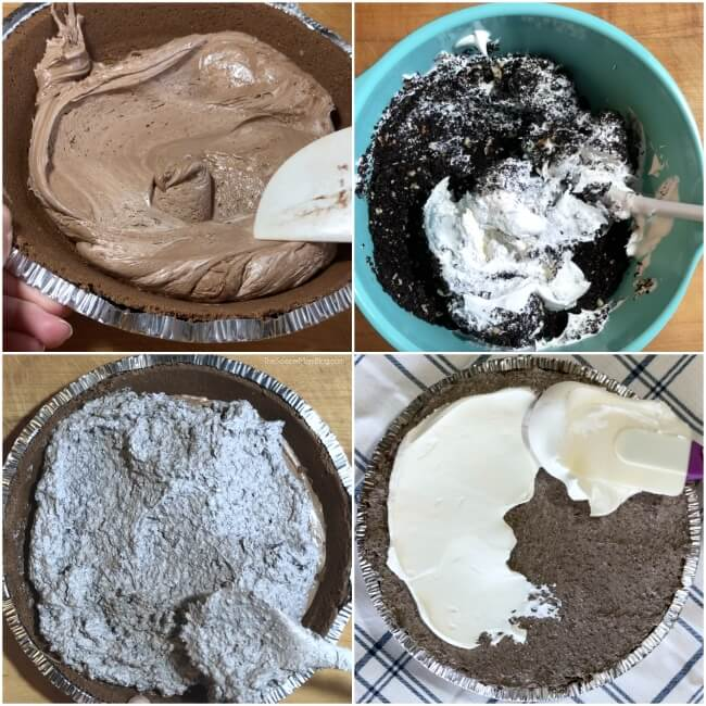 How to make cookie pie