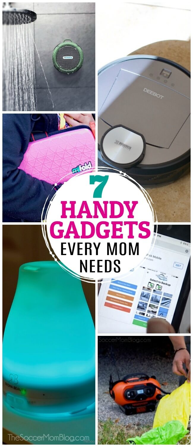 Want to show mom that you really care? Gift her with one of these super-handy gadgets for moms that will make her life a little (or a LOT) easier!