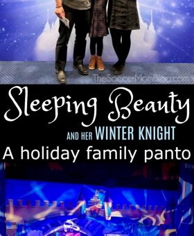 Sleeping Beauty and Her Winter Knight at TUTS Review & Giveaway