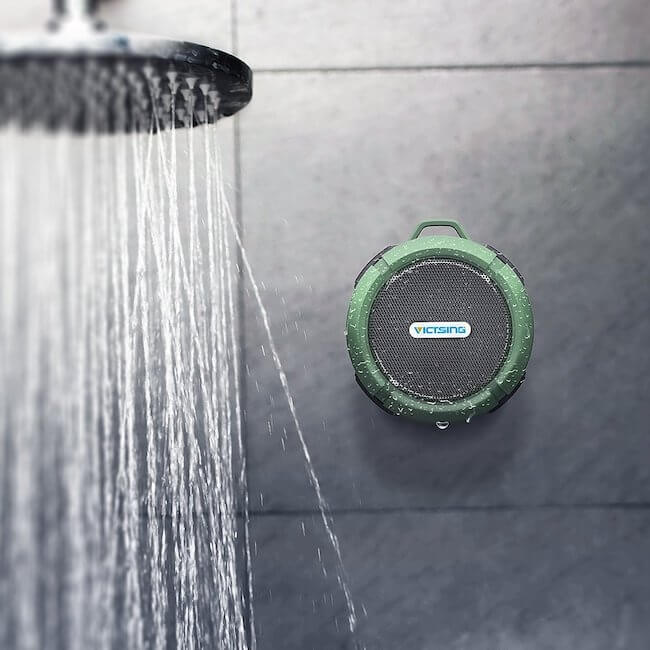 VicTsing shower speaker review
