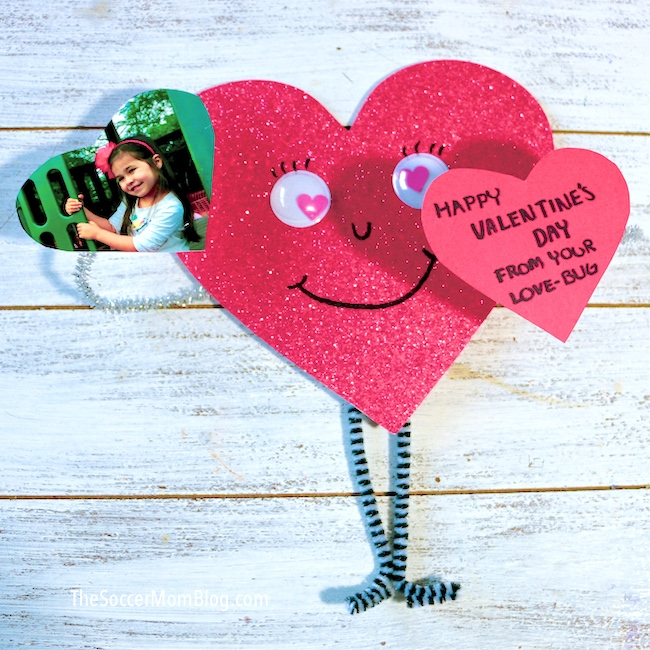 Love Bug Valentine Craft