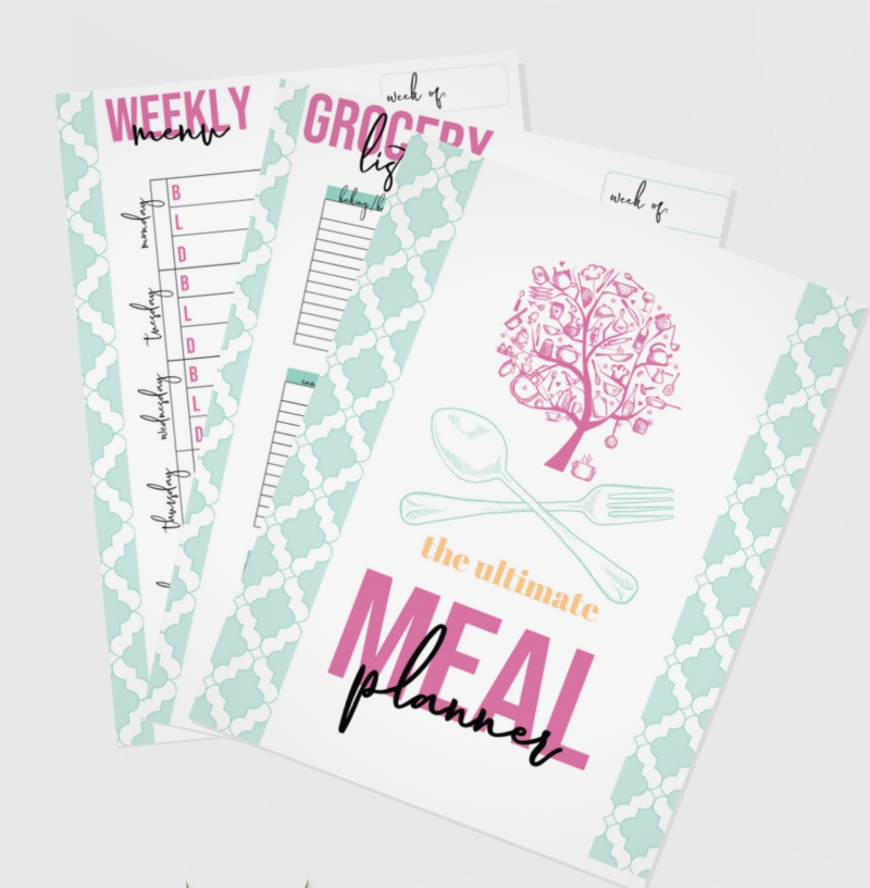 meal planner printable pages