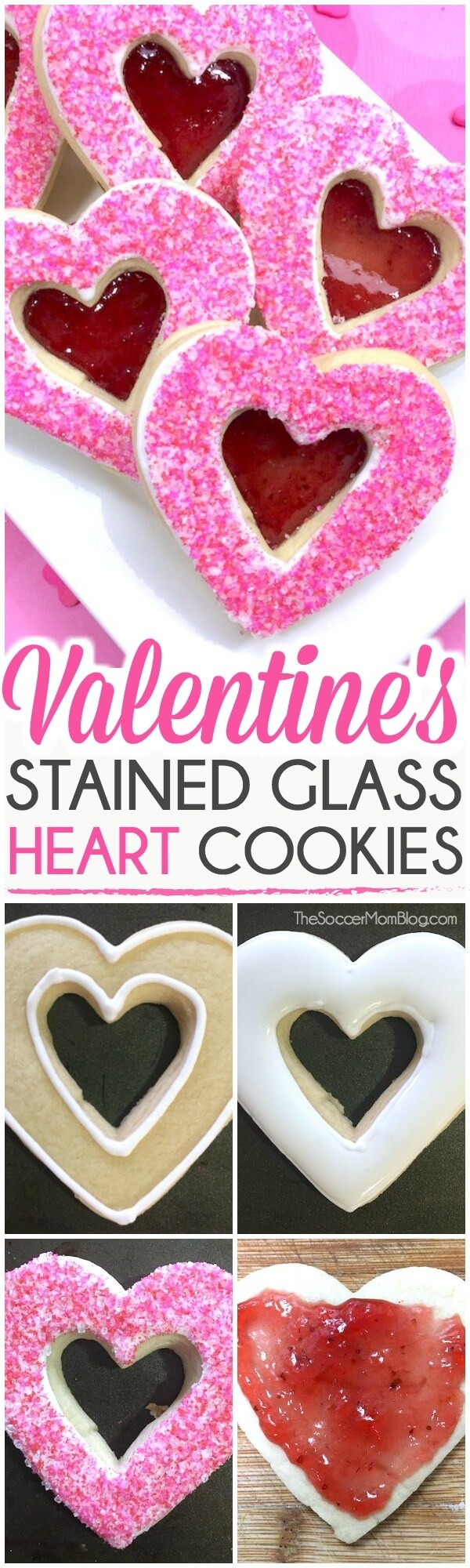 How to make heart cut-out sugar cookies for Valentine's Day
