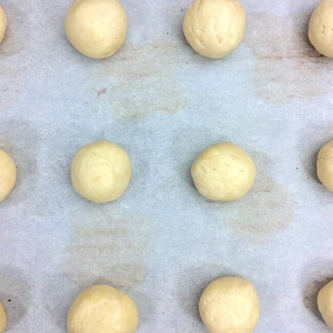 How to make Easter thumbprint cookies