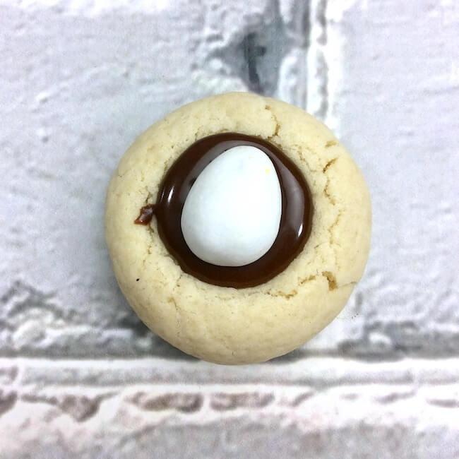 How to make mini Cadbury Egg Cookies for Easter