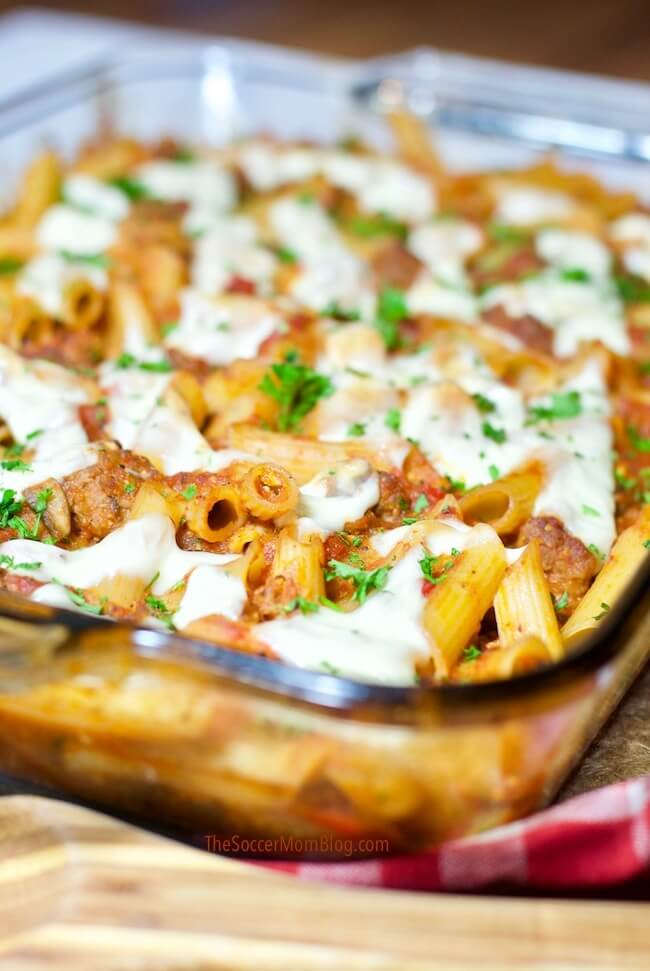 How to make baked ziti that's gluten free and dairy free
