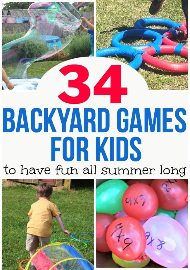 outdoor games for kids that are both thrifty and fun!
