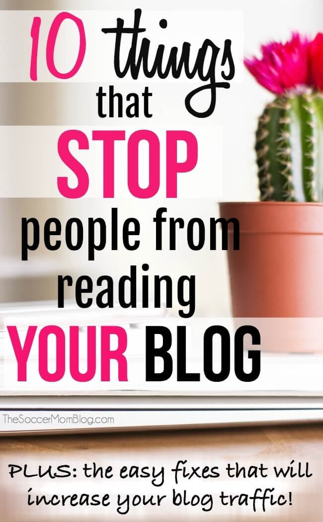 "Stop wondering, ""why aren't people visiting my blog??"" Instead, make things easier on yourself by avoiding some of the new blogger mistakes that might actually be driving readers away (instead of drawing them in!)"