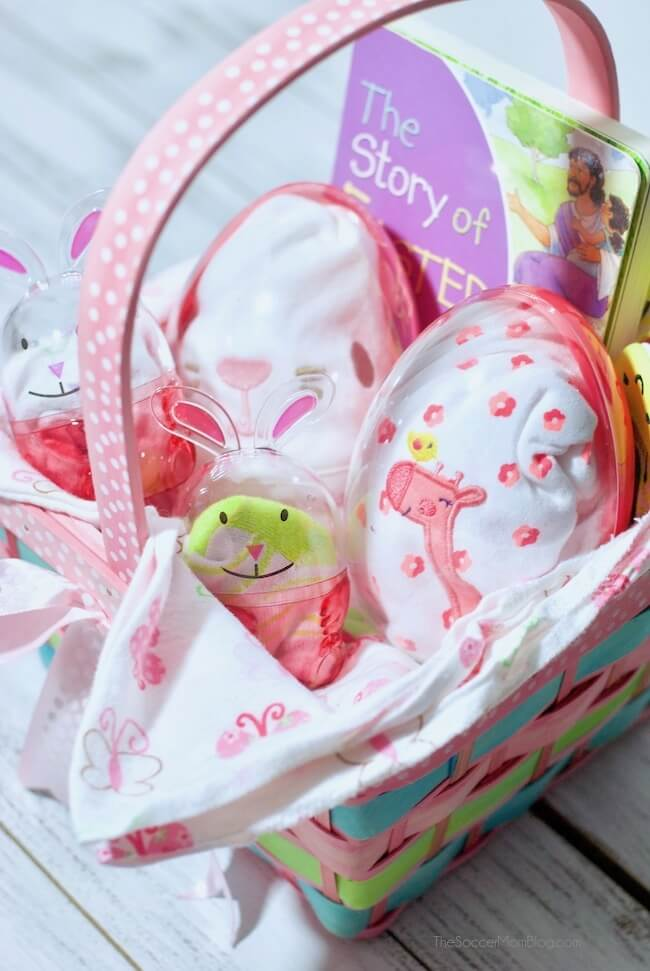 how to make an basket for baby's first Easter