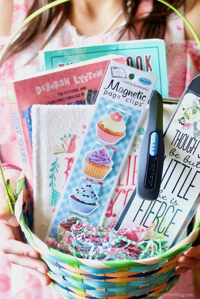 Make Easter extra special for your favorite bookworm with this Book Lover's Easter Basket — it's perfect for young readers and can be tailored to all ages!