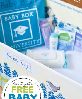 How to Get a Free Baby Box – Just Like Moms in Finland!
