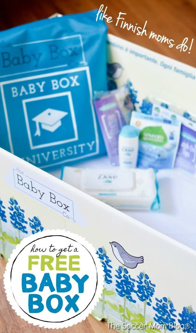 Finland has the lowest infant mortality rate in the world — because they put their newborn babies to sleep in cardboard boxes! How expectant moms in the United States can get a FREE Baby Box filled with samples and supplies.