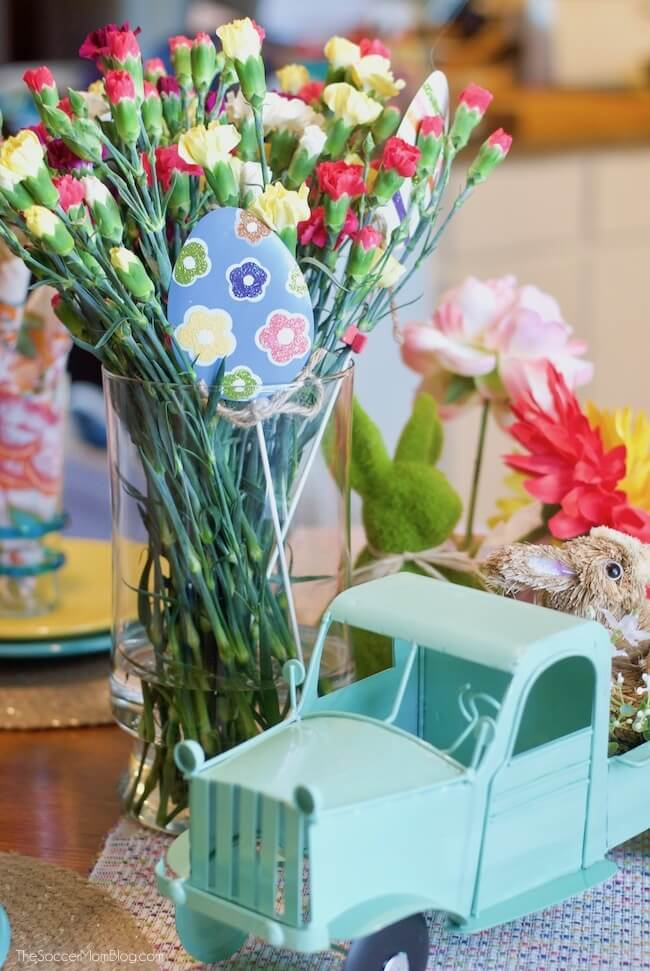 These folded bunny napkins add a whimsical touch to your Easter table - and they're easy to make!Keep reading for photo step-by-step instructions, plus more tips for creating gorgeous (and affordable) Easter decor.