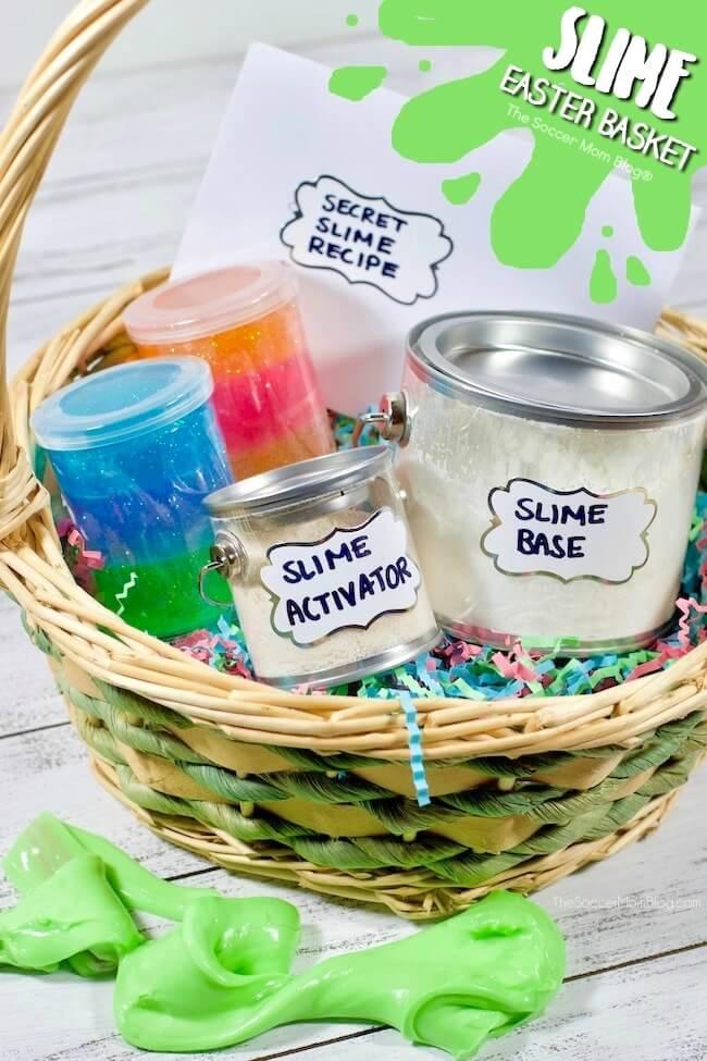 Slime Easter Basket For Kids The Soccer Mom Blog