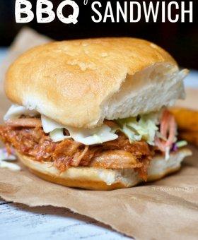 West Virginia Style Pork Barbecue Sandwich