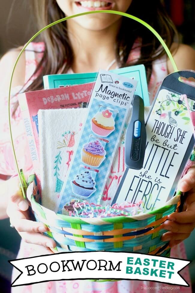 Image result for bookworm easter basket