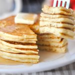 "These gluten free pancakes are fluffy and flavorful diner-style flapjacks that truly deserve the title ""best ever!"""