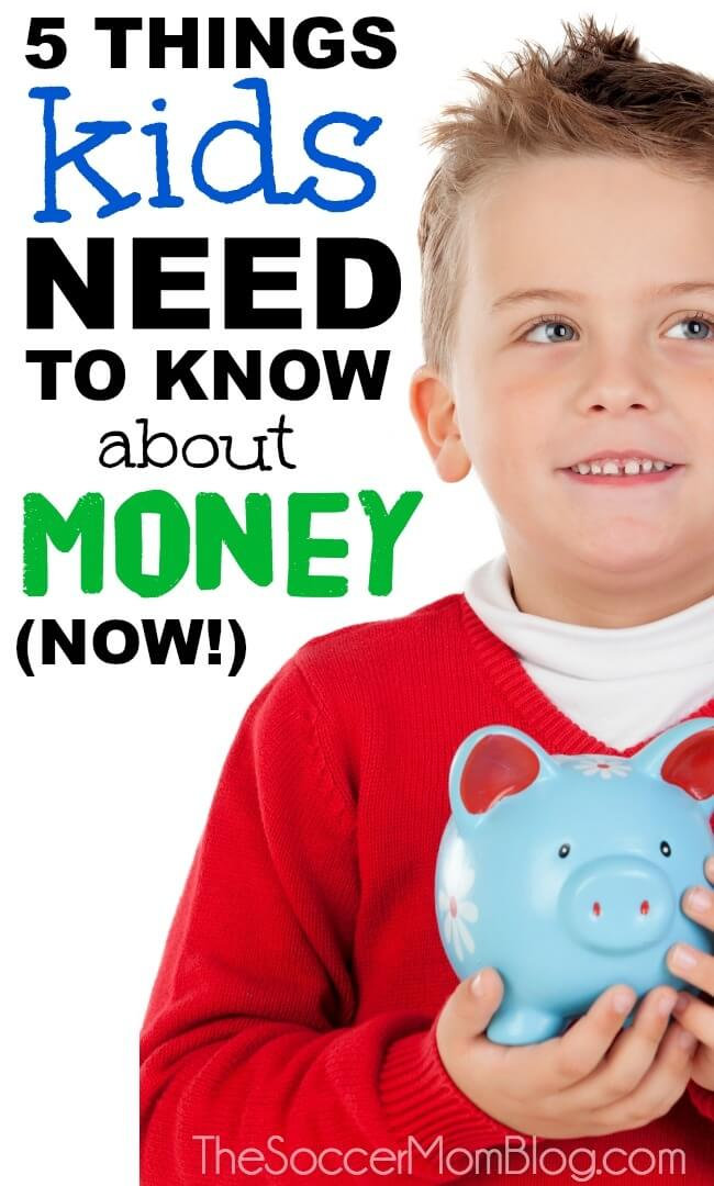The essential financial skills ALL kids need to know before adulthood. Why teaching money to kids is so important to their success later in life.