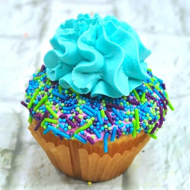 How to make mermaid cupcakes
