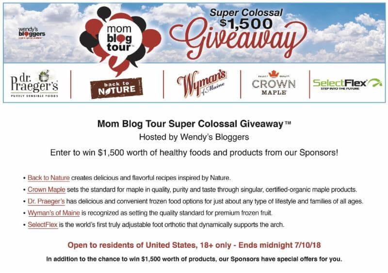 Mom Blog Tour Giveaway