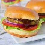 Who said veggie burgers are boring? These Cuban BBQ Veggie Burgers are smokey, sweet, and wildly flavorful! Oh, and they're super easy to make!