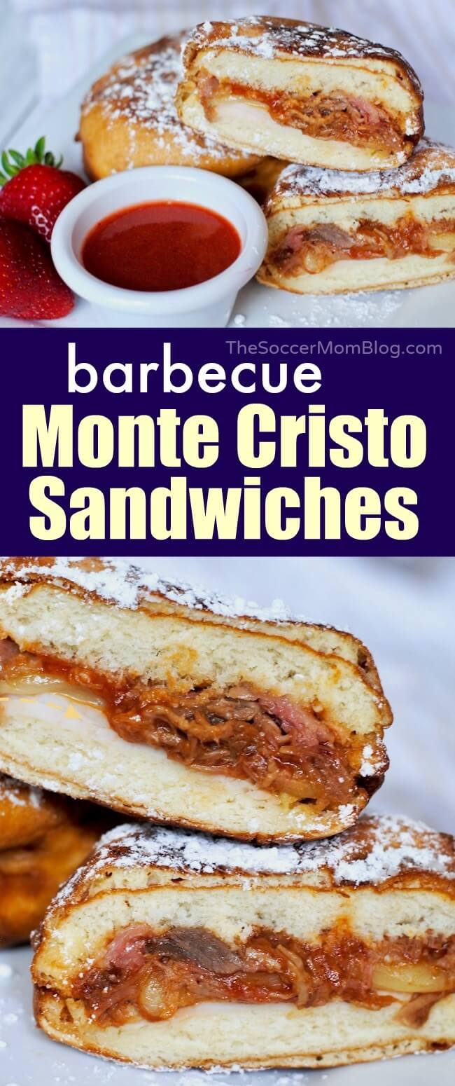 All the flavor of the original packed into the perfect handheld bite (plus a surprising secret ingredient!) — our Mini Monte Cristo Sandwich is a must-try party appetizer!