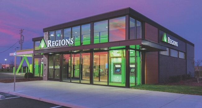 Regions Bank location