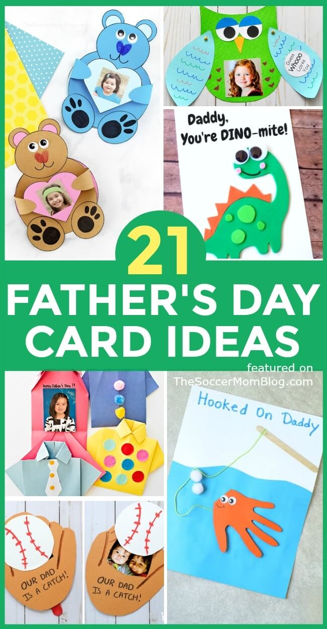 21 Personalized Father S Day Card Ideas For Kids To Make