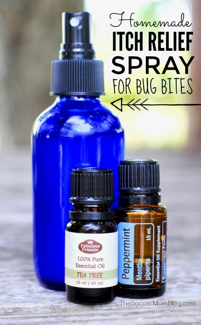 How to make your own soothing homemade itch relief spray for bug bites and mosquito bites