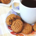 "These Keto Peanut Butter Cookies taste so satisfying you won't even miss the ""real"" thing...and you won't miss the carbs either!"