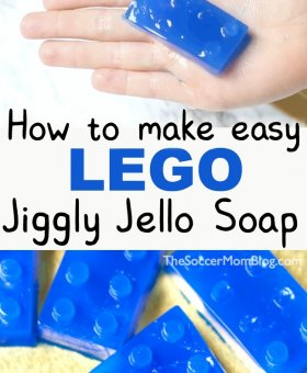 LEGO Homemade Jelly Soap (VIDEO)