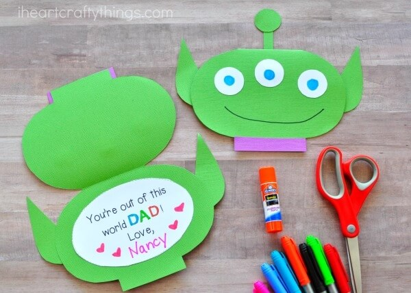kid-made father's day crafts