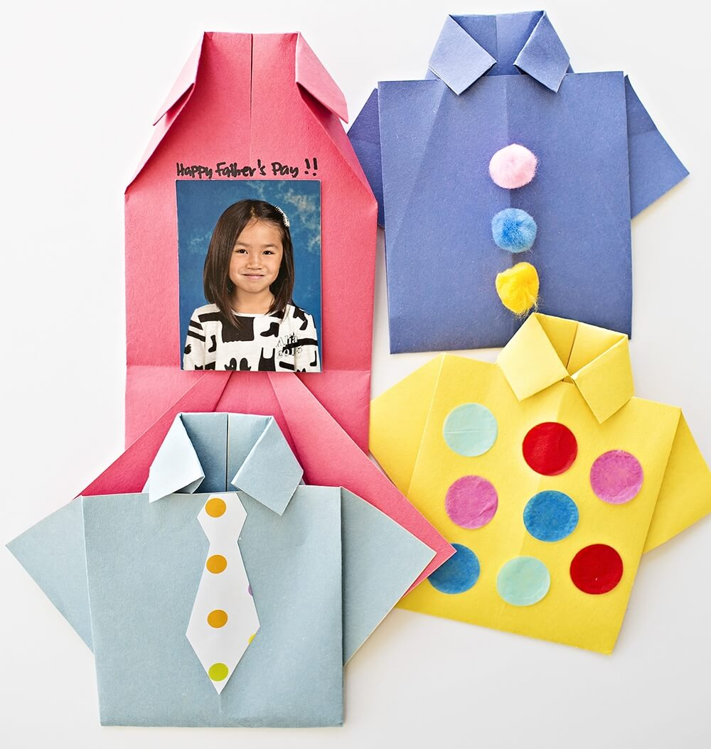 origami Father's Day Card ideas