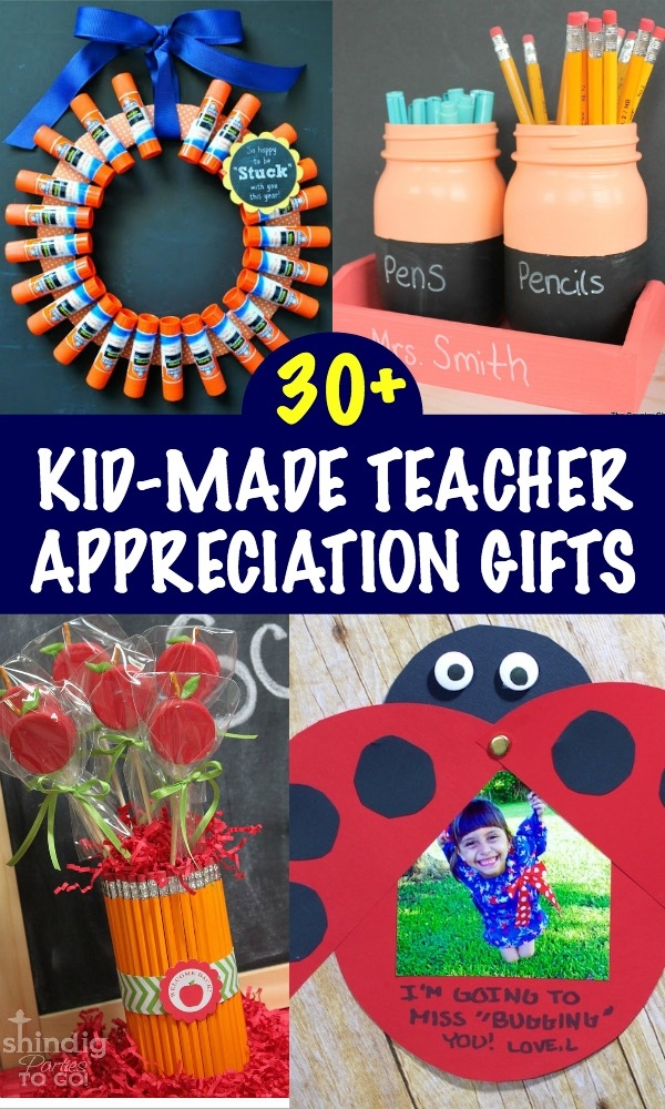 This collection of kids crafts and thoughtful teacher appreciation gifts are perfect to show your favorite educators just how special they are!