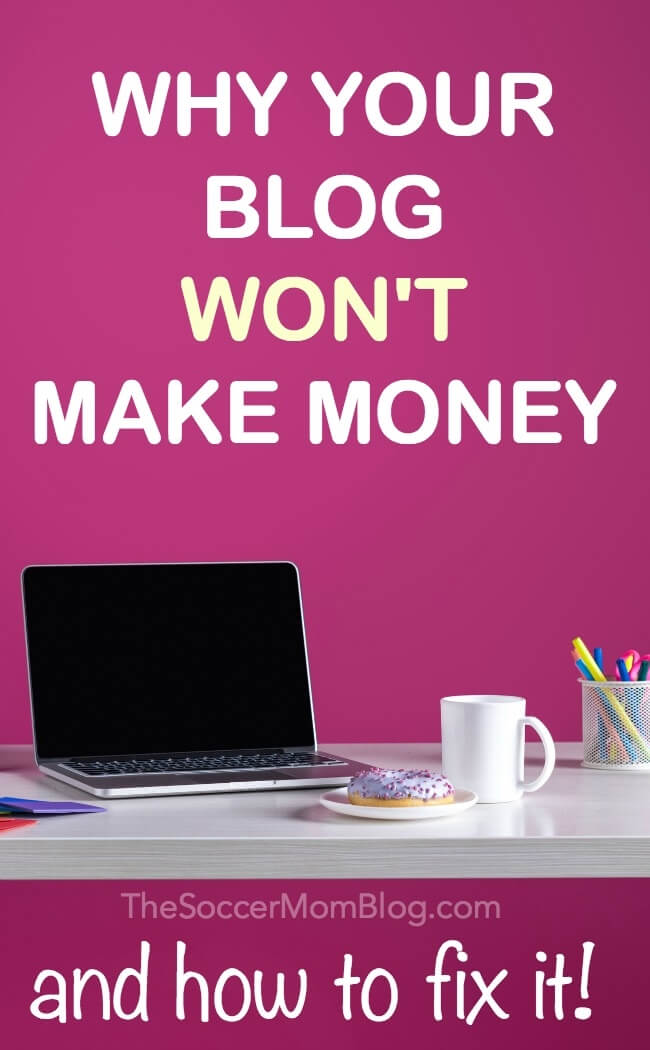 Blogs that aren't making money have these 4 things in common - here's how to to fix it and monetize your new blog.
