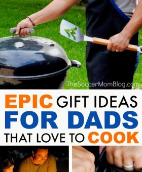Epic Gift Ideas for Dads that Love to Cook