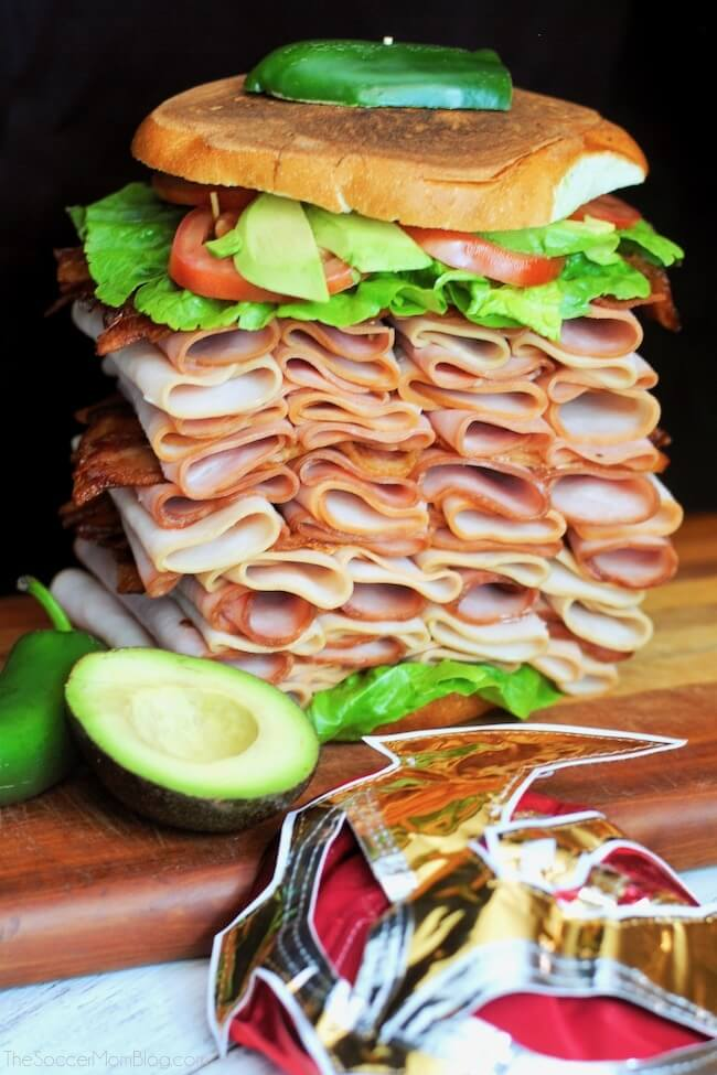 quotel gigantequot mexican ham torta the soccer mom blog