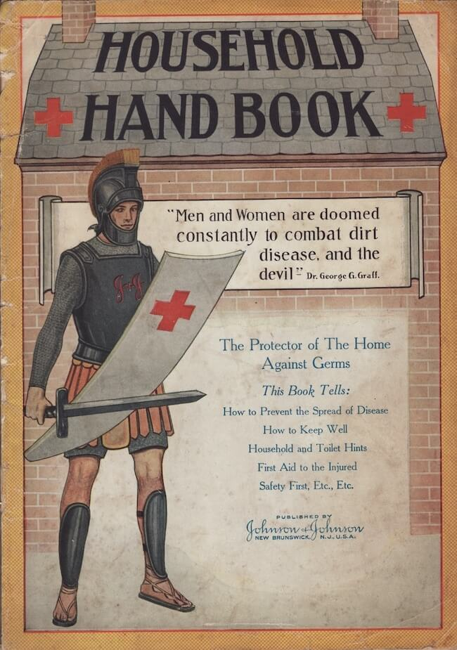 Household Hand Book to promote hygiene - vintage