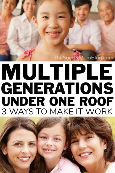 Making Multigenerational Households Work
