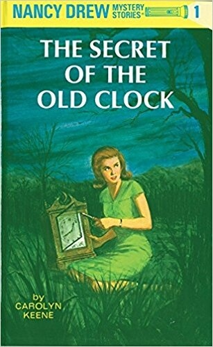 Nancy Drew the Secret of the Old Clock book cover