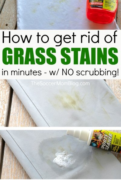 The Easiest Way to Remove Grass Stains from Clothes