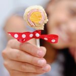 "Sandwich lollipops put a special spin on the ""usual"" school lunch!"